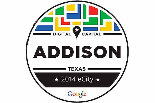 2014 Google eCity Award Addison, Texas