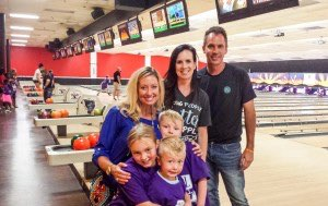 "Nerium Brand Partners & Families Joined the Fun at BBBS ""Bowl for Kid¹s,"" photo courtesy of Nerium International"