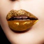 Gold Makeup Trend