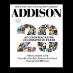 Addison Magazine Celebrates 20 Years With Special Digital Edition