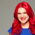 Carly Aquilino at the Addison Improv