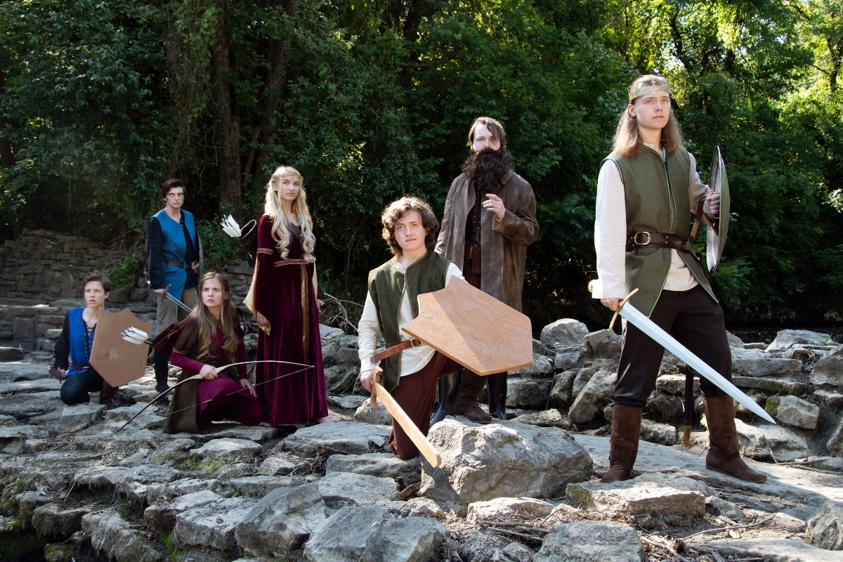 Outcry Theatre The Legend of Arthur Opens Friday!