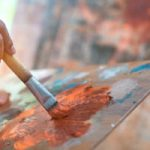 Addison Art Program: Watercolors and Oil Paintings