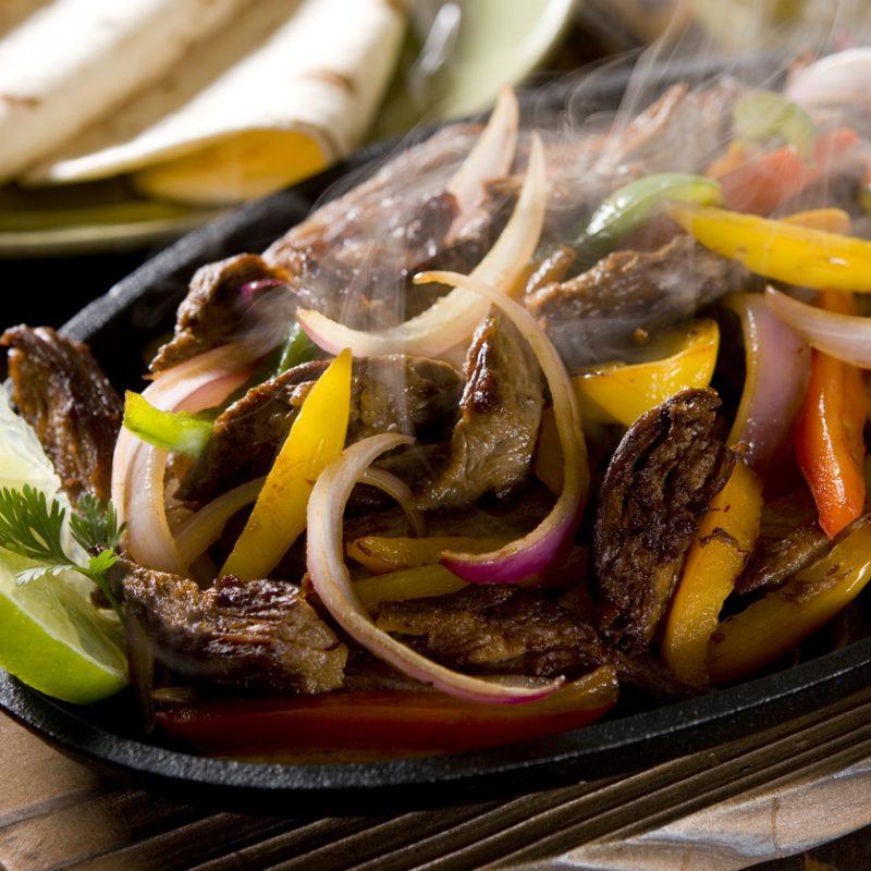 Sizzling Steak Fajita
