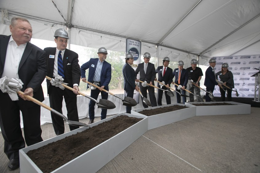 Groundbreaking on DART Silver Line
