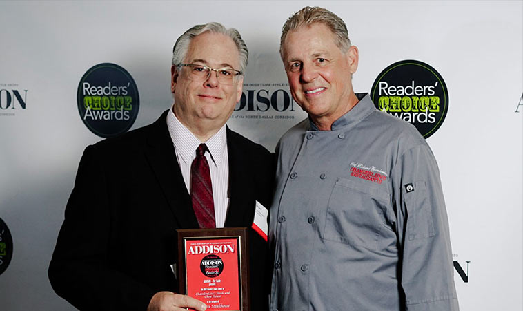 Chamberlain's Steak And Chop House Wins Favorite Steakhouse