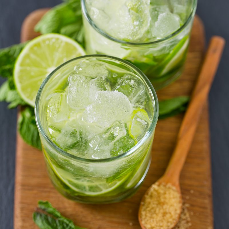 Easy Mint Cocktails at Home