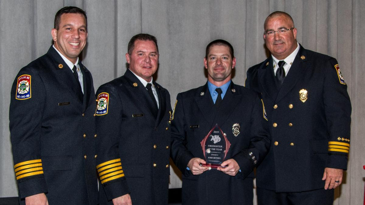 Addison Fire Department Hosted First Addison Fire Awards