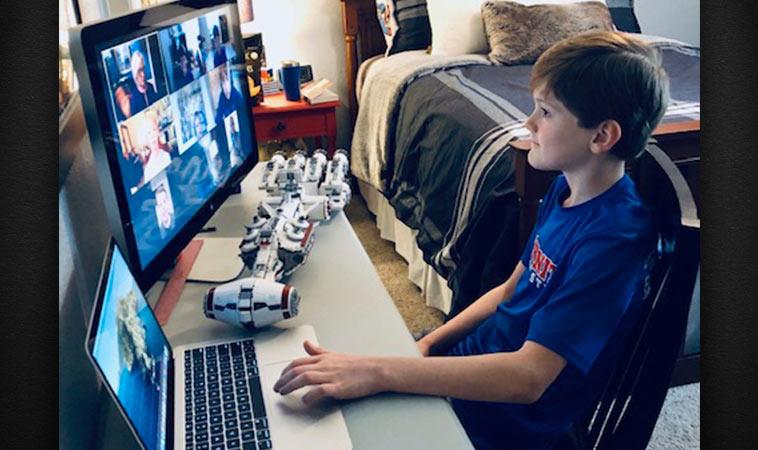 Trinity Christian Academy Students Connect Via Virtual Recess