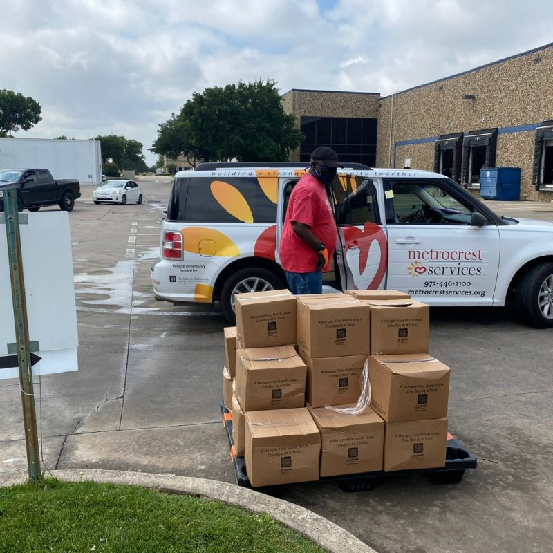 Metrocrest Services Helped Thousands of Families in April