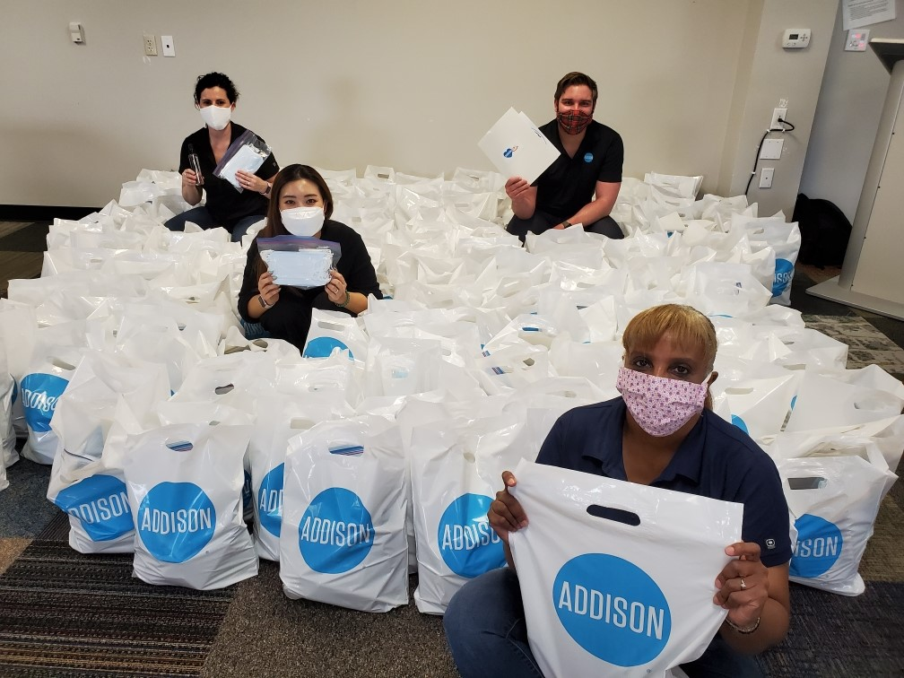 Town of Addison Delivers Back to Business Kits as More Businesses Allowed to Re-Open