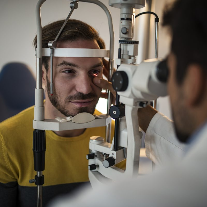 Key-Whitman Eye Center Takes Care of Your Vision Safely
