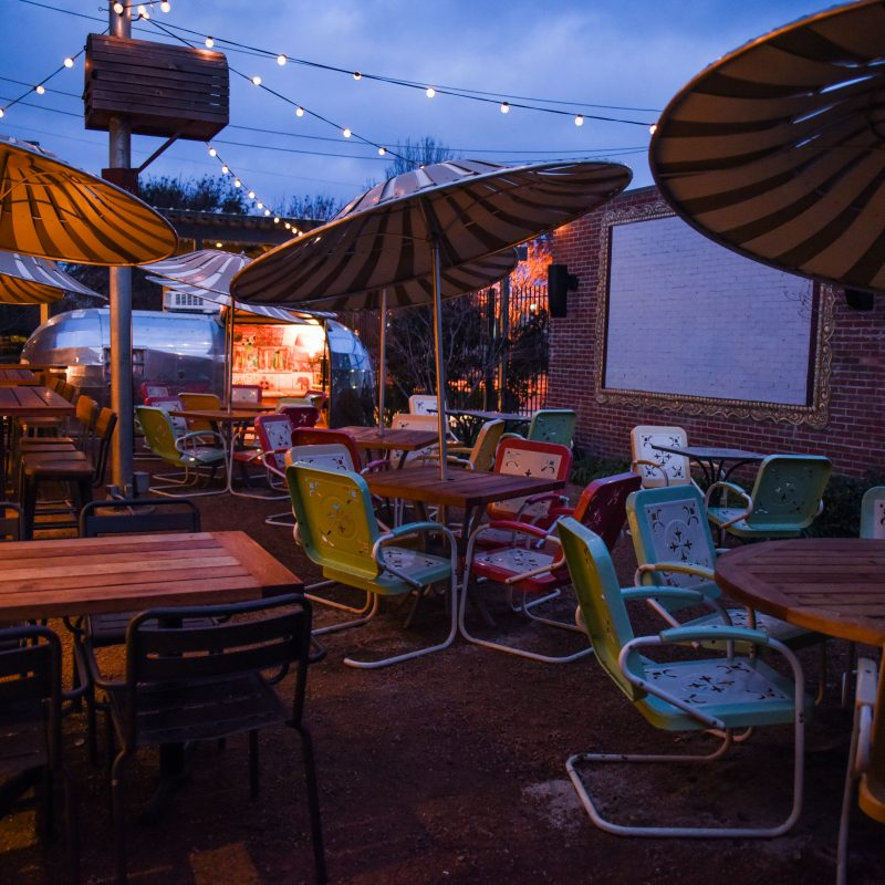 Ida Claire Hosts Patio Movie Nights