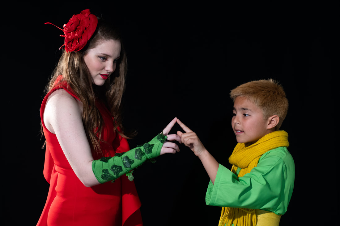 The Little Prince at Outcry Youth Theatre
