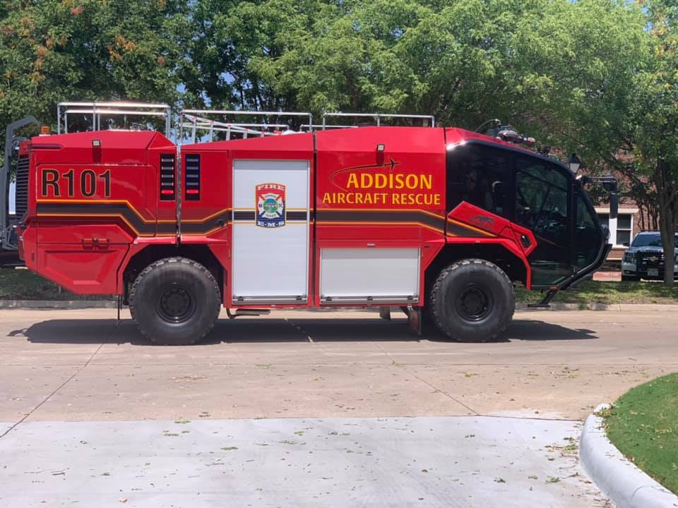 Addison Fire Department Welcomes Rescue 101 to its Fleet