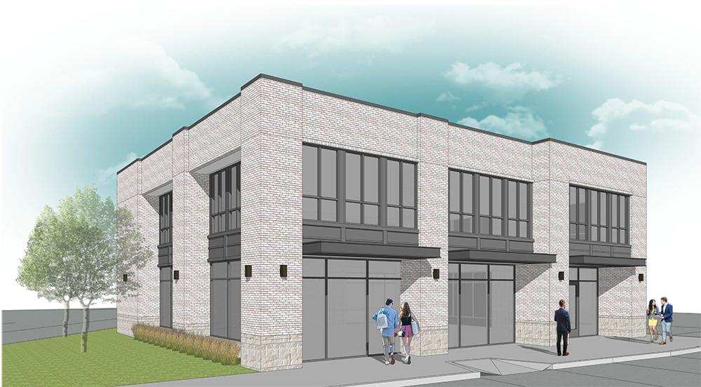 Two-Story Office Building Planned Near Addison Town Center