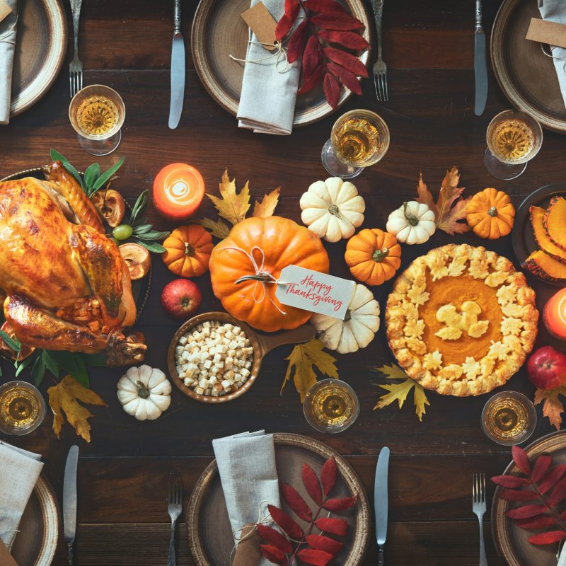 Beautiful Tablescapes for Thanksgiving
