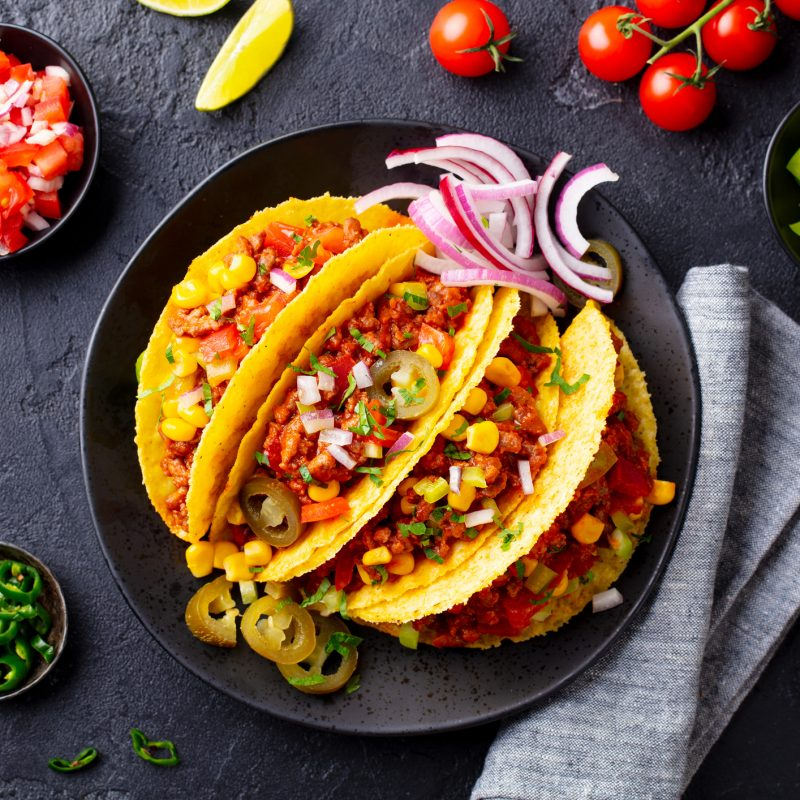 Warm Up With Spicy Mexican Food