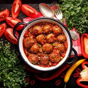 Delicious Meatballs in Addison