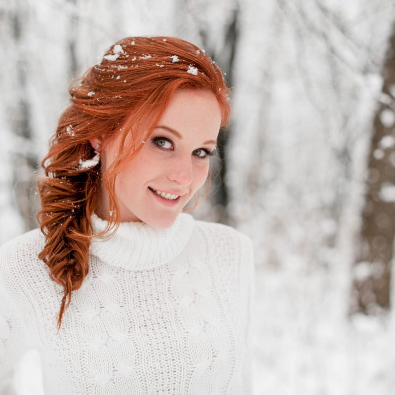 Pretty Winter Hairstyles