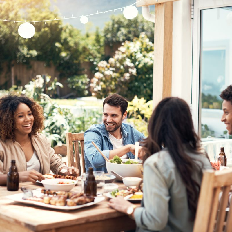 Spring Patio Dining in Addison