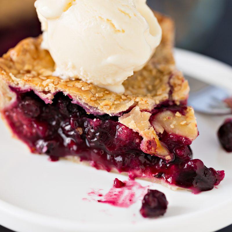 Blueberry Pie Day in Addison