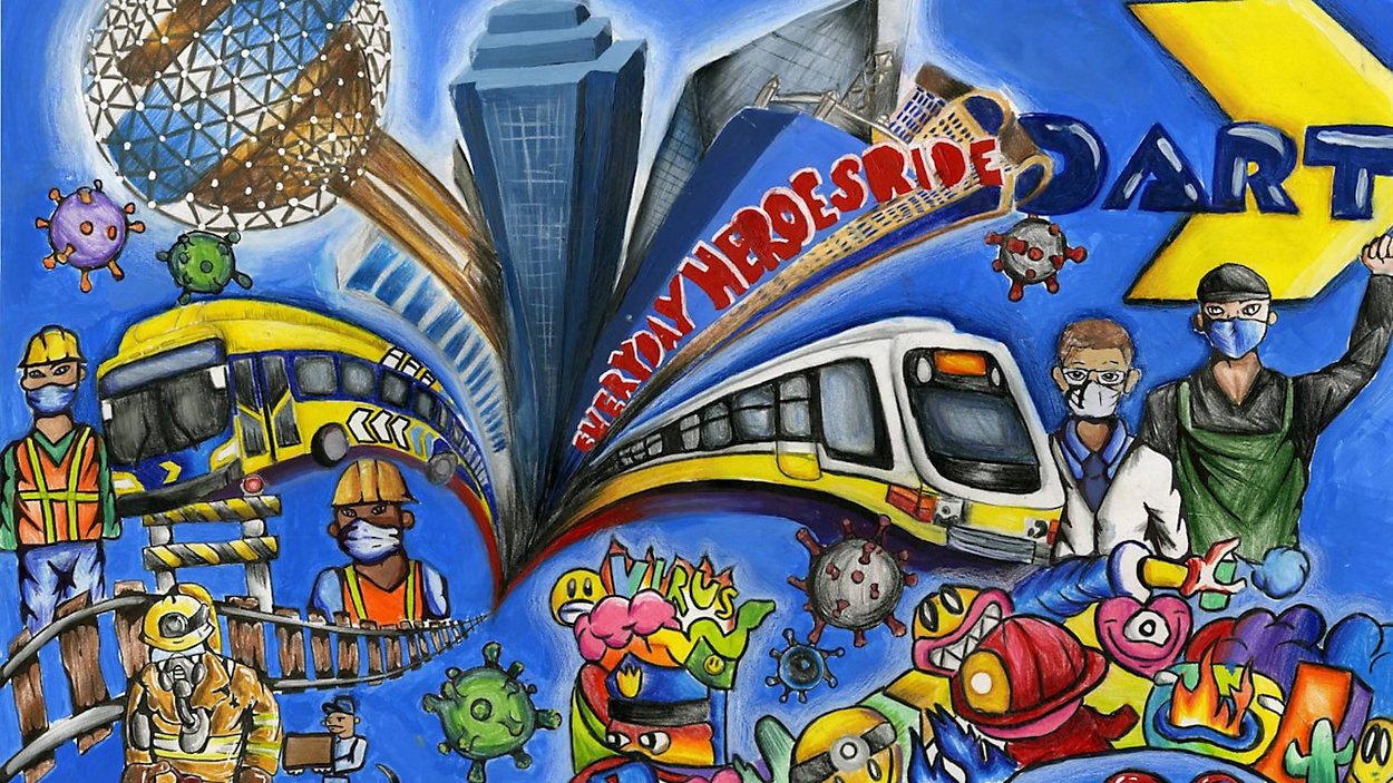 Addison Student Artwork to Appear on DART
