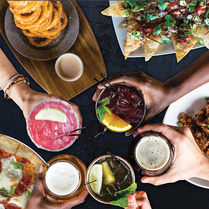 Visit happy hour in Addison!  Credit: Sidecar Social.
