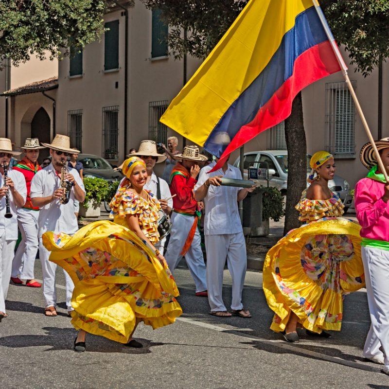 Dallas Colombian Festival at Addison Circle