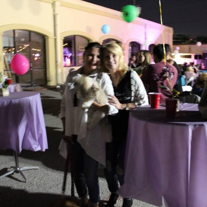 Annamarie Austin, Tammy Ramirez, and Bella Cookie.jpg